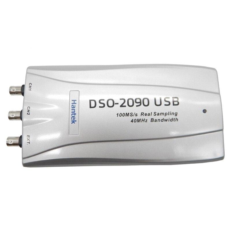 Hantek DSO2090 Portable Oscilloscope Oscilloscope Numérique USB Oscilloscope PC 100 MS/s 40 MHz