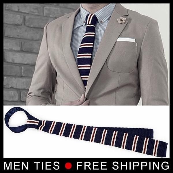 Estrecha Hombres corbatas Lazo Lazo de la boda de Moda del estilo de Corea Del Sur Tejer Envío Libre