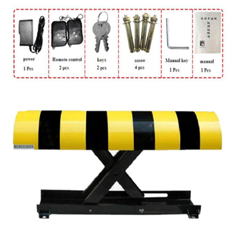 Galo parking lot parking space parking barrier waterproof anti-theft convenient remote control parking lockGalo parking lot parking space parking barrier waterproof anti-theft convenient remote control parking lock