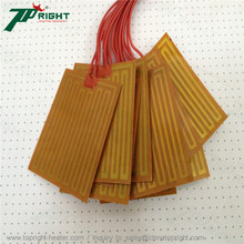 Size 100x160mm Flexible polyimide film heating element as