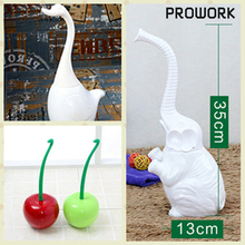 Ceramic Cherry Toilet Brush Geese Elephant Toilet Brush Bathroom Accesory Grohes Toilet Bowl WC Cleaner for Toilet Cleaning