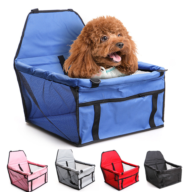 Pet Dog Carrier waterproof Car Seat Pad Safe Carry House Cat Puppy Bag Car Travel Basket Pet Accessories Waterproof Dog Seat Bag