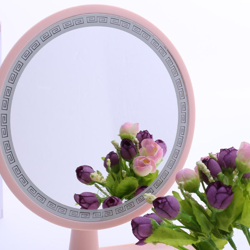 New Rechargeable LED Makeup Mirrors Desktop Sensor LED Makeup Mirror Multifunctional Storage Mirror