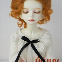 JD089 MSD классический скрученный кукольный парик 1/4 мохер парики для коллекции фарфоровая кукла 7-8 дюймов BJD волосы