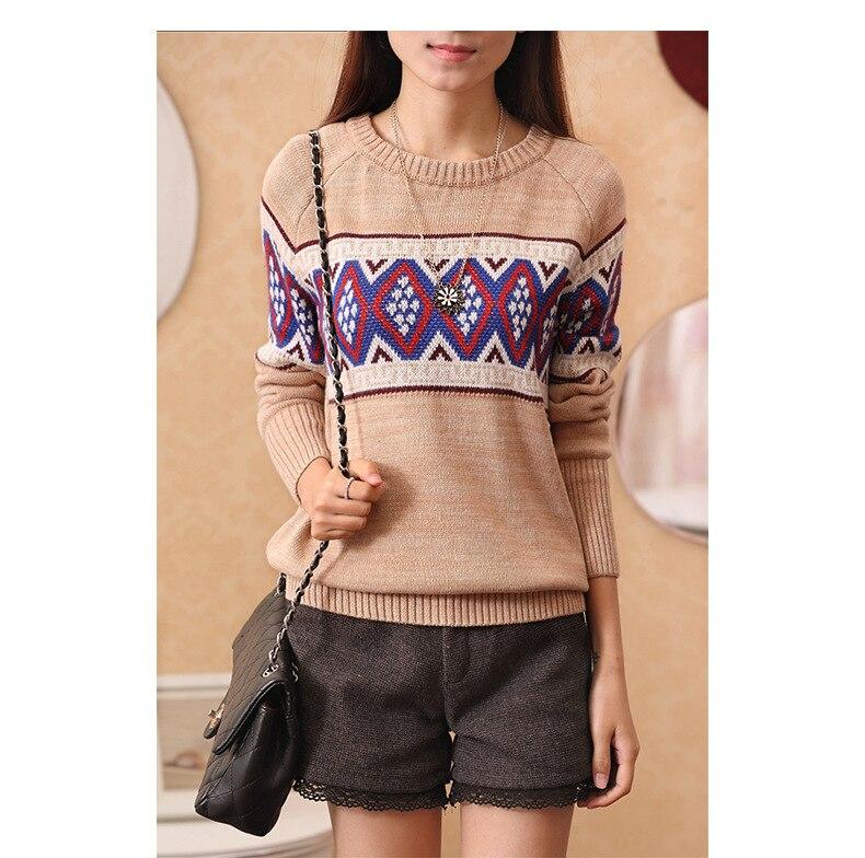 De Paloma Viento Colegio de cobertura suéter de punto camisa femenina de Corea v