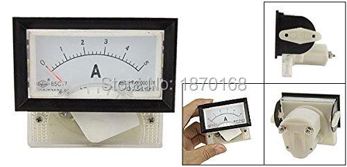 85C17 Amperometro misuratore da pannello analogico DC - Strumenti di misura - Fotografia 2