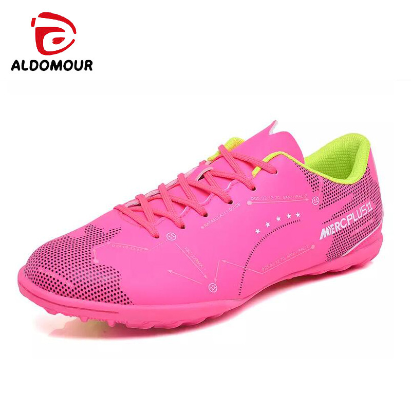 943dd0a8c Aliexpress.com   Buy ALDOMOUR Football Professional Soccer Football Shoes  Men Women Outdoor Turf Soccer Cleats Athletic Trainers Sneakers Boots Game  from ...