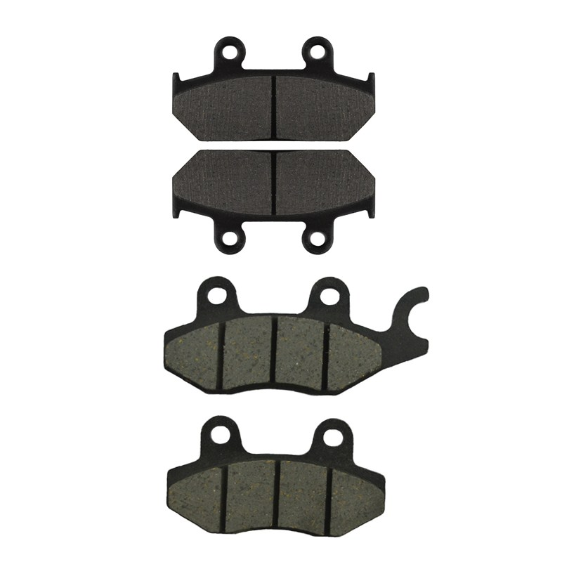 Motorcycle Front and Rear Brake Pads for CAGIVA E 900 ie Lucky Explorer / GT 1991-1992 Black Brake Disc Pad motorcycle front and rear brake pads for yamaha fzr 400 fzr400 rrsp rr 1991 1992 black brake disc pad