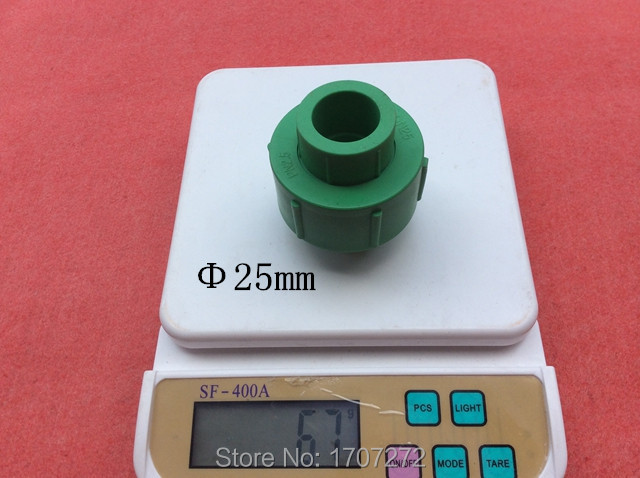 Size 25mm PPR flexible connection  pipe fitting joint Pipe coupling PPR Pipe Fitting