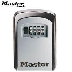 Master Lock Сейф с ключом открытый настенное крепление комбинация блокировки паролей Скрытая ключи коробка для хранения сейфы для Офис