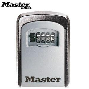 Image 1 - Ящик для хранения скрытых ключей, настенный Сейф для дома и офиса, мастер замок