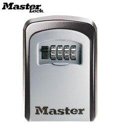 Master lock chave cofre caixa de montagem na parede ao ar livre combinação senha bloqueio escondido chaves caixa de armazenamento cofres de segurança para o escritório em casa