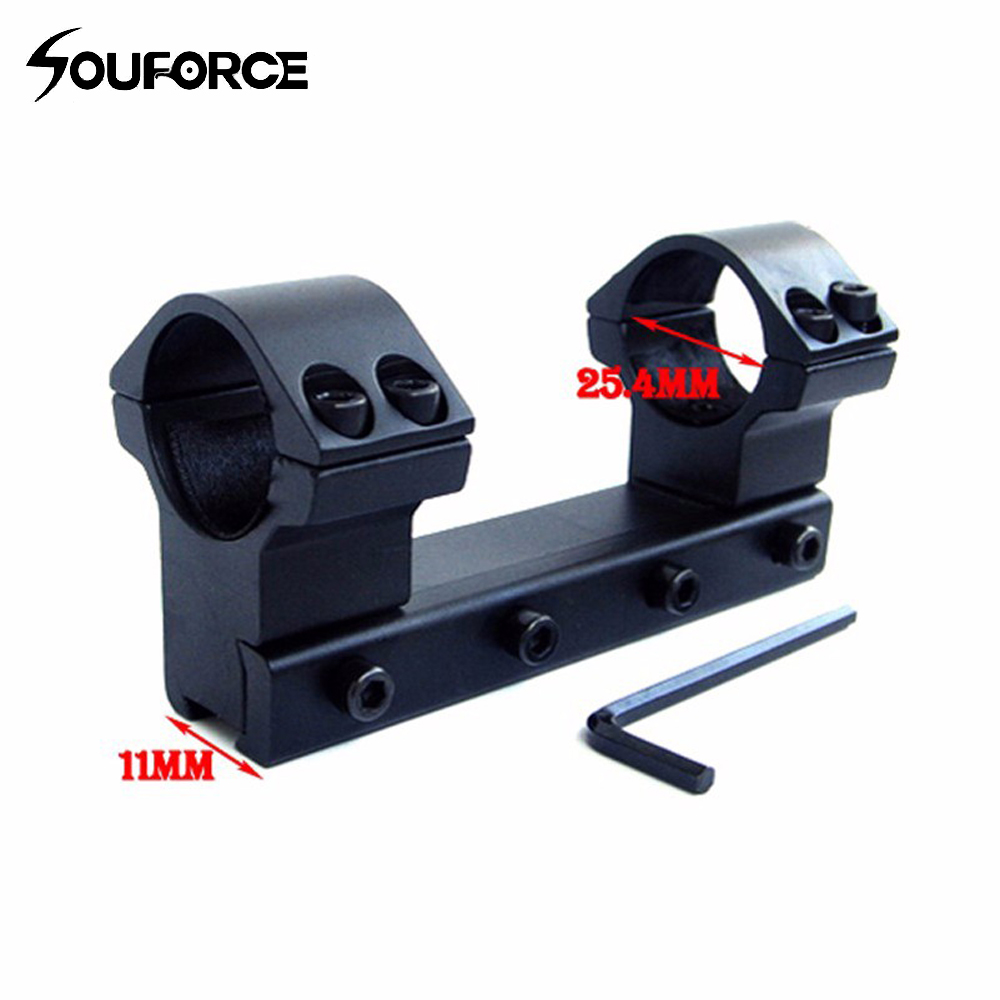 High Profile 25.4mm Double Scope Ring Suit 11mm Dovetail Rail Mount For Rifle Scope Accessories for Hunting High Profile 25.4mm Double Scope Ring Suit 11mm Dovetail Rail Mount For Rifle Scope Accessories for Hunting