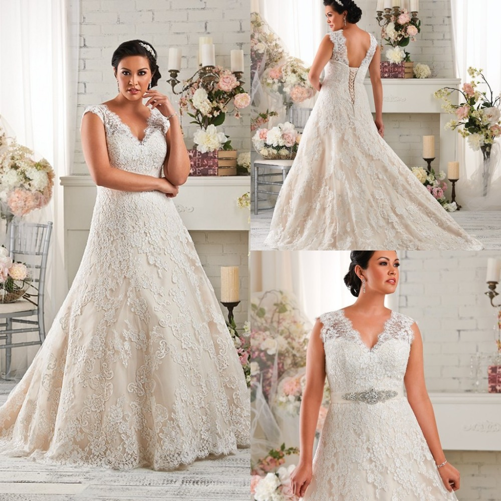 Bridal Gowns Ventura County : A line lace up wedding dress all about