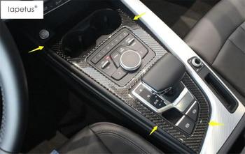 LAPETUS Transmission Shift Gear Panel Cover Trim Fit For Audi A5 A4 B9 Sedan / Avant / Allroad Quattro 2016 - 2020 Accessories