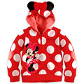 2017 baby clothing children outerwear Boy Girls sweater Minnie Hoodies Mickey  Sweatshirts Mouse Cartoon Top Kids,Free shipping