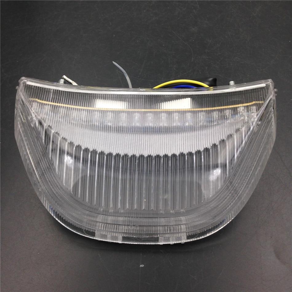 Aftermarket Motorcycle Parts LEDTail Brake Light Turn Signals for Honda CBR 600RR CBR1000RR Fireblade CLEAR