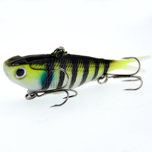 Image 5 - WLDSLURE señuelo de pesca de silicona, cebo suave bónico, 10,5 cm, 18g, plomo suave, pescado Artificial, aparejos de pesca, 1 Uds.
