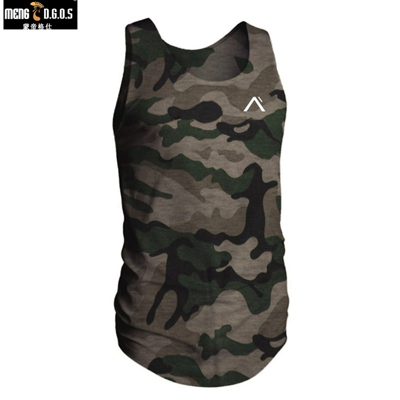2018 New Brand Mens bodybuilding Tank Tops Men Breathable Suits Men's Cotton Fitness Gyms Suits Men Gyms mens tank top