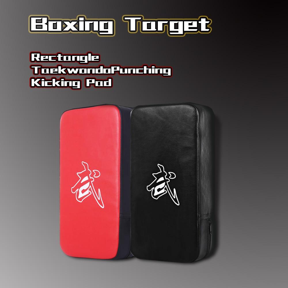 Children's Adult Boxing Sanda Training Taekwondo Foot Target Hand Target Kick  Durable Pad Training Tae Kwon Do Karate Q