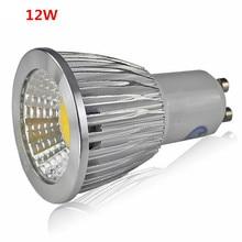 Super Bright GU10 Bulb Light Dimmable Led Ceiling light Warm/White 85-265V 9W 12W 15W GU10 COB LED lamp light GU10 led Spotlight