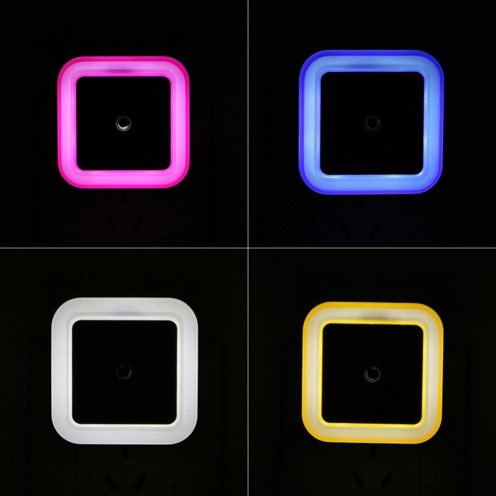 ZINUO LED Night Light Wall Lamp Night Light Sensor Lamp Automatic Light 0.5W Sensor For Bedroom For Baby Child X