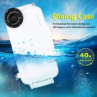 For IPhone 6 Waterproof Case 40m 130ft Underwater Camera Housing Photo Taking Waterproof Diving Case For