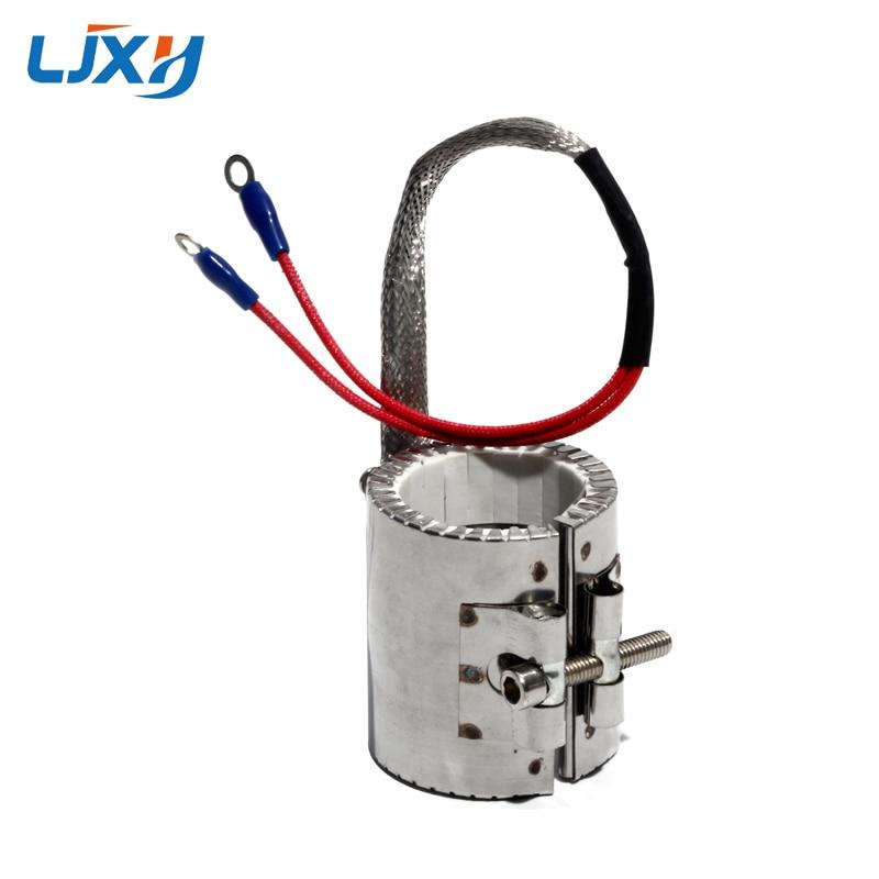 LJXH 35mm Inner Diameter Ceramic Band Heaters Heating Element 50mm/55mm/60mm Height