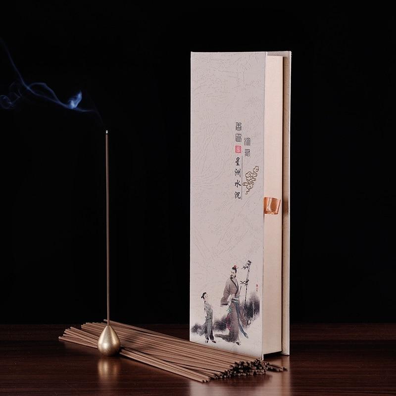 PINNY Přírodní Agarwood kadidlo surové dřevo Barritas Incienso tyčinky Aromaterapie Buddhistická meditace Aromatické tyčinky Statické zdraví