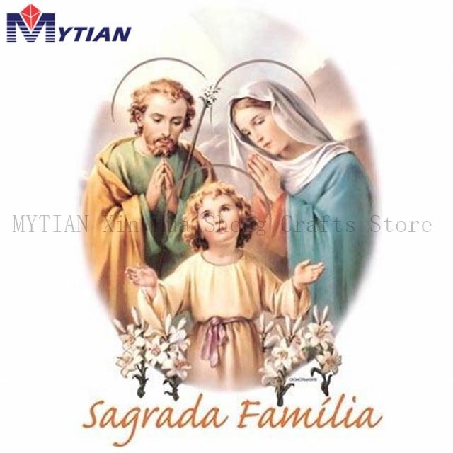 5D DIY Diamond Embroidery Jesus Gods Religion DIY Sagrada Familia Diamond Painting Full Drill Cross Stitch Kits Home Decor Gift