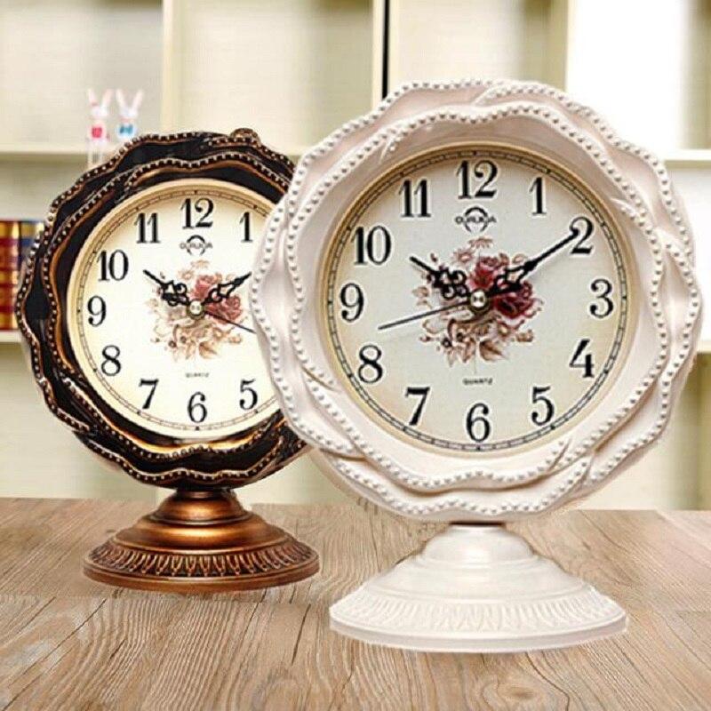 Meijswxj 12 pouces horloge Saat électronique bureau horloge Reloj chambre salon numérique Table horloges support muet Relogio de pared