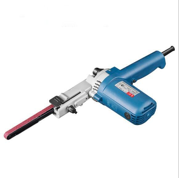 Belt Sander Speed Adjustable Belt Polishing Machine 220V Power Tools 220v adjustable speed polishing machine jade