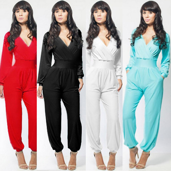 Compare Prices on Plunging Neckline Romper- Online Shopping/Buy ...