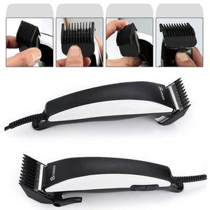 Image 5 - SURKER 5 in 1 saç düzeltici SK 5601 ev güç kablosu profesyonel saç kesme makinesi ayarlanabilir saç kesme makinesi yetişkin saç makasları