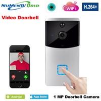NuMenWorld WiFi Video Doorbell IP Camera Wireless Dingdong Door bell Night Vision Security&Protection Video Intercom
