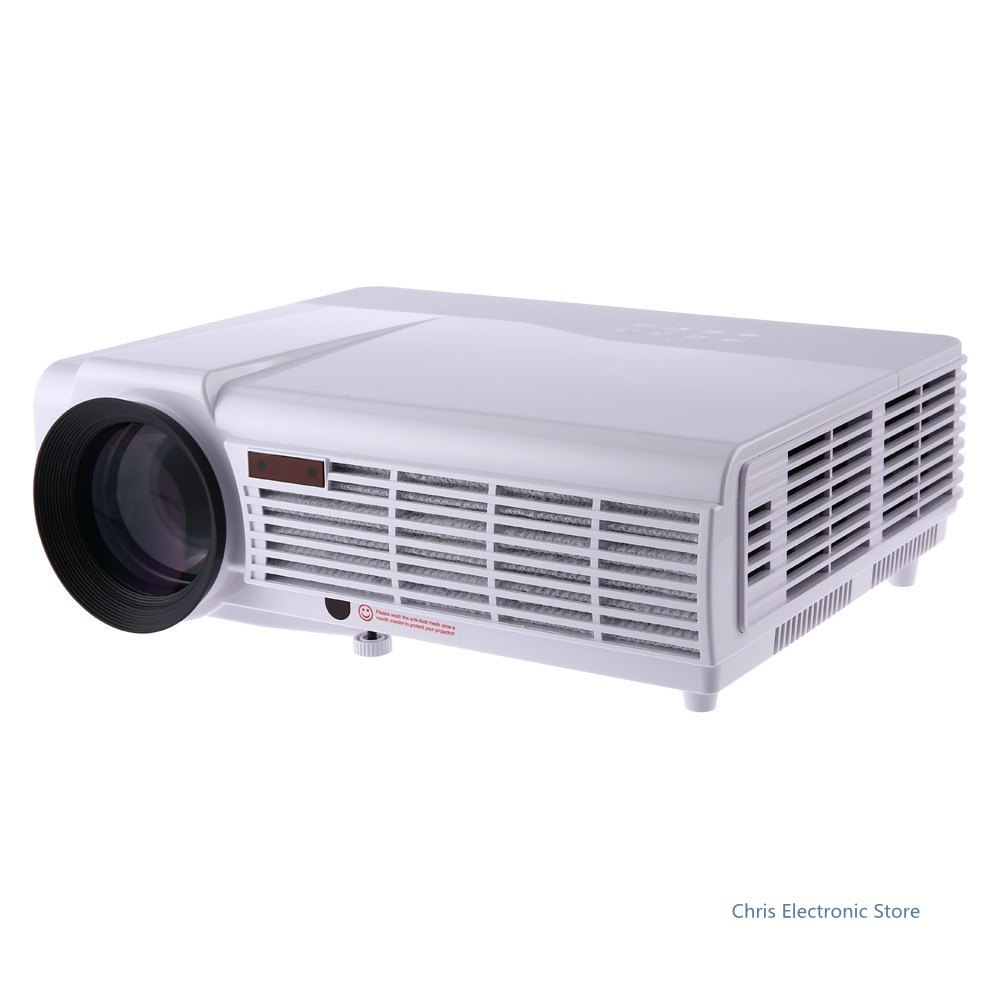 Led Lcd Projector X7 Home Cinema Theater Multimedia Led: Mesuvida LED-96 HOME THEATER 3000 LUMENS 1280X800 Pixels