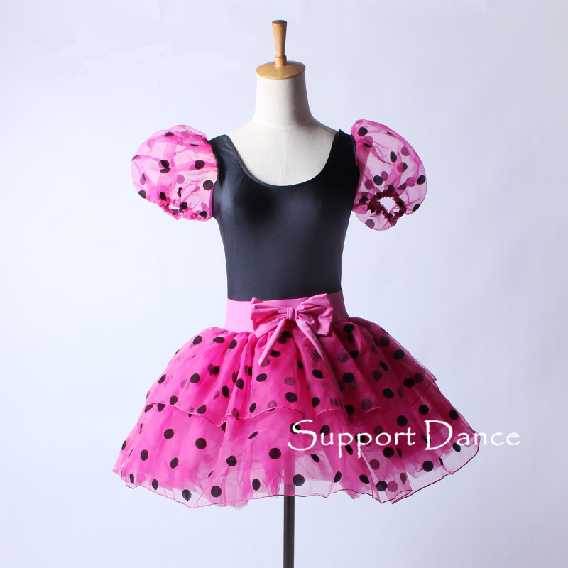 9590518c57554 US $35.0  Support Dance Girls Women Polka Dot Puff Sleeve Ballet Tutu Dress  C148-in Ballet from Novelty & Special Use on Aliexpress.com   Alibaba ...