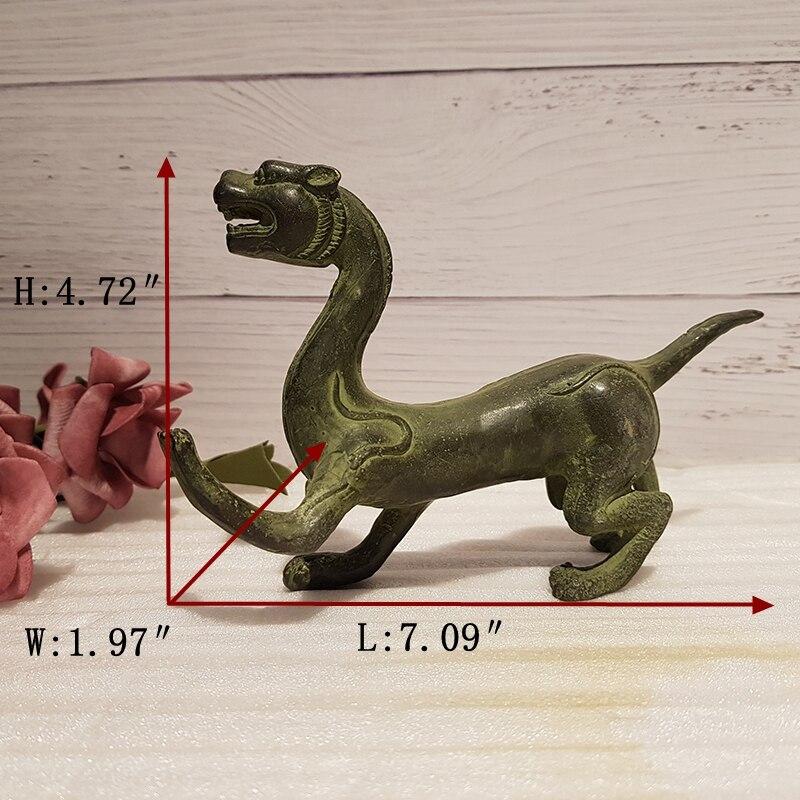 Antique bronze four-beast beast (1)_