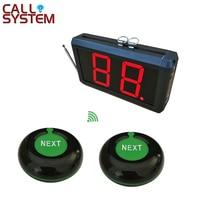 Могут иметь самую Системы 2-разрядный дисплей со следующим Управление Кнопка Беспроводной номер ожидания Системы