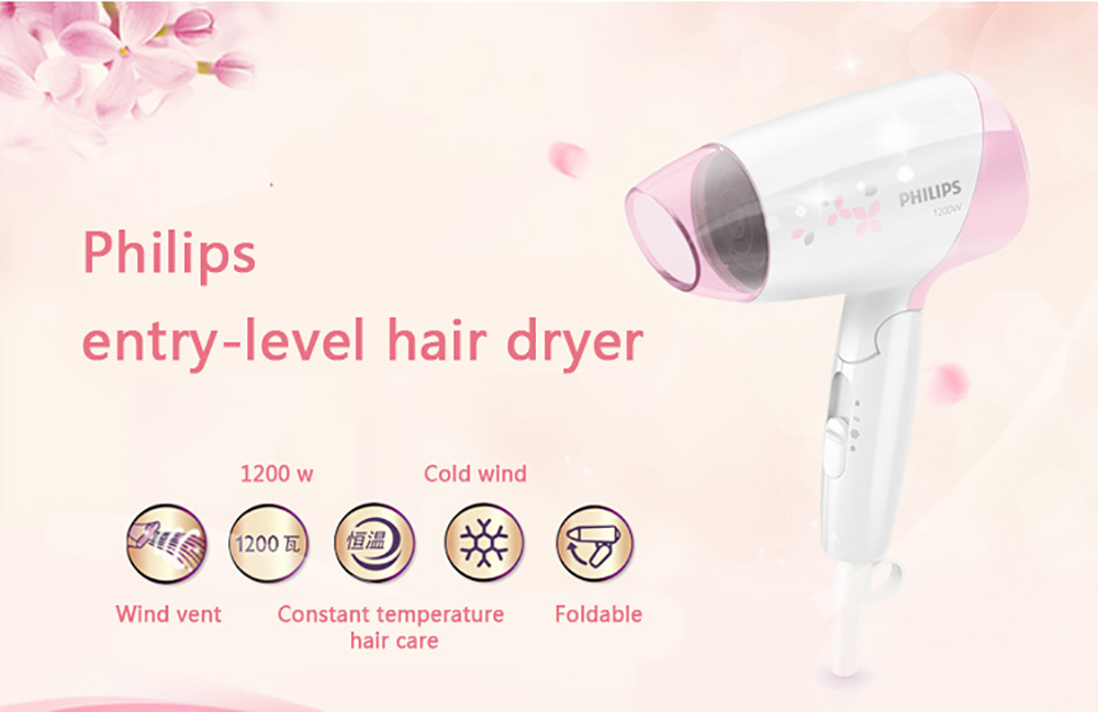Philips Professional Hair Dryer HP8120 1200W with Constant ... 814758f4f4