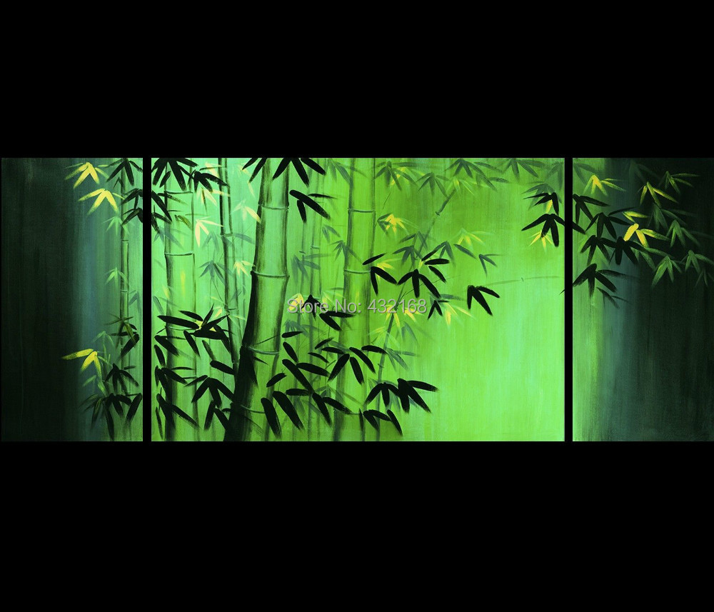 art abstrait feng shui bambou art chinois peinture bambou peinture encadr e 29 dans peinture. Black Bedroom Furniture Sets. Home Design Ideas