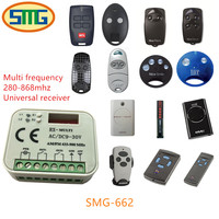 Multi Frequency 280 868mhz Auto Scan Frequency Universal Garage Door Remote Control Receiver