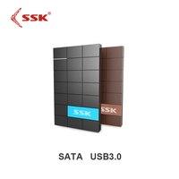 SSK SHE080 USB 3 0 HDD Enclosure 2 5 Inch SATA HDD CASE Serial Port Hard