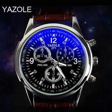 Free Shipping original brand yazole 271 Quartz Watches Men Top Brand Luxury Famous Wristwatch men sports watch