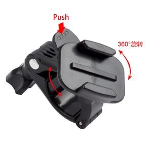 Image 2 - ORBMART Adaptador de montaje para manillar de bicicleta y motocicleta, con rotación de 360 para GoPro Hero 8 7 6 5 Go Pro SJCAM Xiaomi Yi