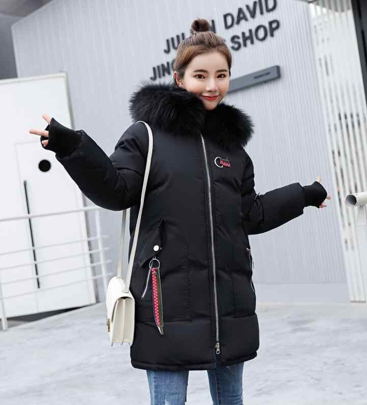 f23519da7a5 ... OEAID New Plus Size 3XL Fur Coat Women Parka Long 2018 Winter Coat  Women Jackets And ...