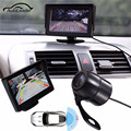 Car Rearview Reversing Camera DVR VCR Rear View Cameras Parking Backup Monitor System 4.3 inch LCD Car Monitor