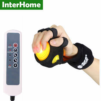 Infrared Hot Compress Hand Massager Ball Massage Hand and Fingers Physiotherapy Rehabilitation Spasm Dystonia Hemiplegia Stroke - DISCOUNT ITEM  35 OFF Beauty & Health