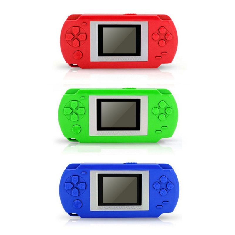 HKB-502 Intelligence 2Inch Screen Child Color Display Handheld Game Consoles Game Player With 268 Different Games
