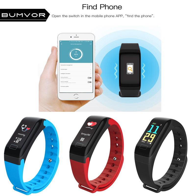 Smart Intelligent Smart Bracelet Sports Fitness Wristbands Step Counter Heart Rate Monitor Real-time Tracker Waterproof Wrist Watch Moderate Price Digital Watches